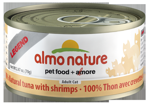 100% Natural Tuna with Shrimps Wet Cat Food