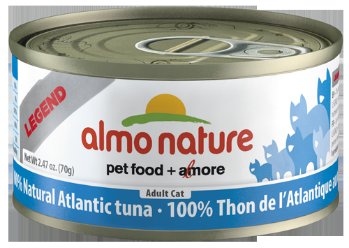 100% Natural Atlantic Tuna Wet Cat Food