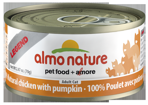 100% Natural Chicken with Pumpkin Wet Cat Food