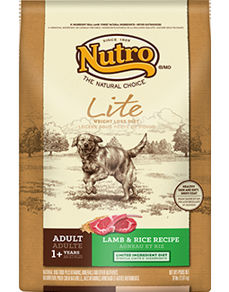 Nutro Natural Choice Lite Lamb/Brown Ricec 5#