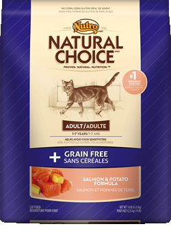 Nutro Natural Choice Grain free Cat Salmon/Potato 6.5#