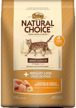 Nutro Natural Choice Weight Loss Cat 6.5#