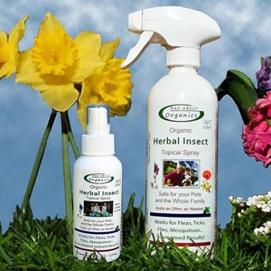 Mad About Organics Herbal Insect Topical Spray