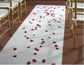 Cloth Aisle Runner