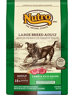 Nutro Natural Choice  Large Breed Lamb/Brown rice 30#