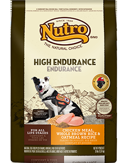 Nutro Natural Choice Dog - High Endurance - Chicken/Brown Rice/Oatmeal - 30 lb.
