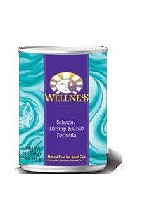 Wellness Salmon/Shrimp/Crab Cat
