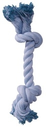 Dogit Baby Blue Rope Bone Dog Toy, Small