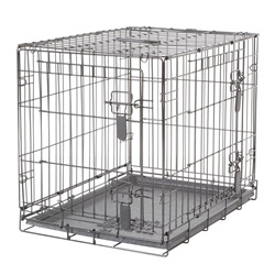 Dogit Two Door Wire Home Crates with divider - Small