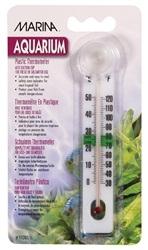Marina Liquid Crystal Plastic Thermometer - Centigrade - Fahrenheit