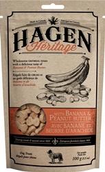 Hagen Heritage - Banana & Peanut Butter Oatmeal Treats