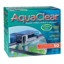 AquaClear 50 Power Filter, Carbon 3PK