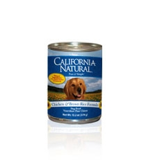 Natura California Natural Dog Chicken/Rice 12/13.2 Oz