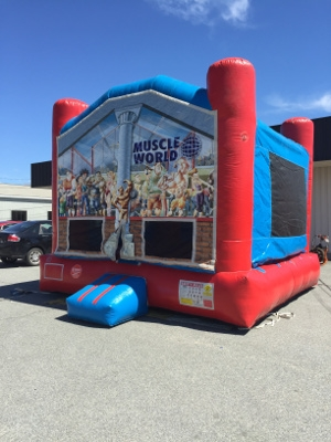 13 x 13 Muscle World Bounce House