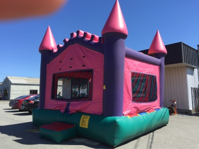 15 x 15 Small Princess Castle Bounce House