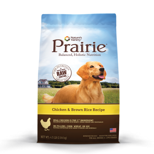 Nature's Variety Prair Chicken/Brown Rice Dog 13.5#
