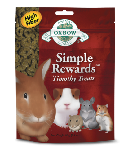 Oxbow Simple Rewards Timothy Treat 8/1.4 oz