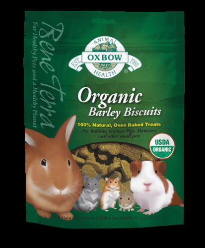 Oxbow Bene Terra Organic Barley Biscuits 12/2.65 oz