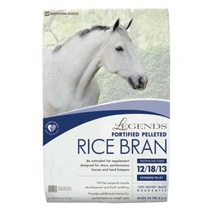 Legends® Fortified Pelleted Rice Bran