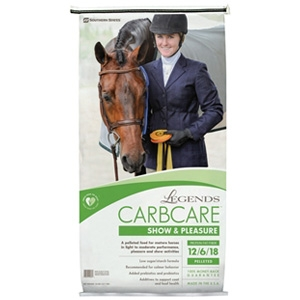 Southern States Legends CarbCare Show & Pleasure Horse Feed
