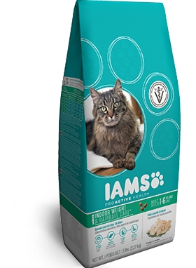 Iams Cat Indoor Weight and Hairball Control 16#