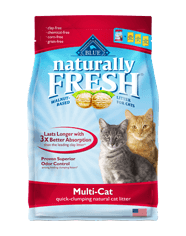 Naturally Fresh MultiCat Clumping Litter 26#