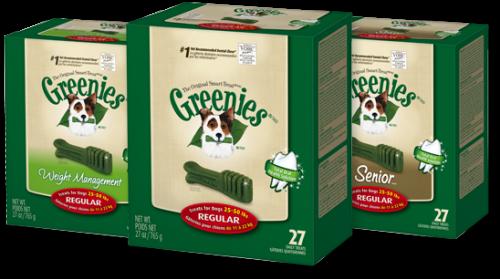 GREENIES® Dental Chews Value Size Tub 36oz Regular