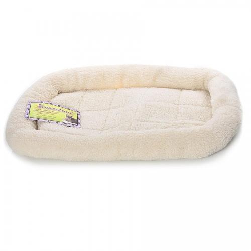 Dreamzone Fleece Bed Black 30X22