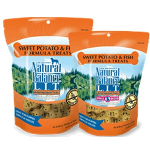 L.I.T. Limited Ingredient Treats® Biscuits Sweet Potato & Fish Formula Treats