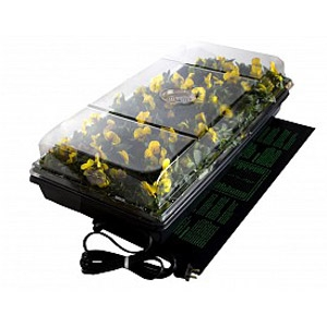 """72-Cell Germination Station w/Heat Mat & 2"""" Dome"""