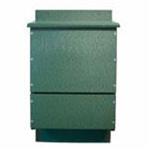 Songbird Essentials® OBC Triple Chamber Poly Green Bat House