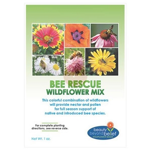 BBB Bee Rescue Wildflower Mix 4 oz/ 8 oz