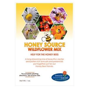 BBB Honey Source Wildflower Mix 4 oz/ 8 oz