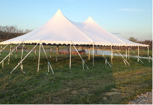 Tent, 40'x60' Pole