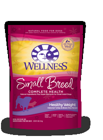 Wellness Small Breed Healthy Weight, 4 Lb Each