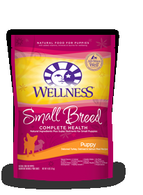 Wellness Small Breed Puppy, 4 Lb Each