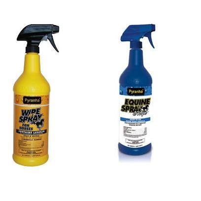 Pyranha Wipe & Spray, 32 oz.