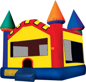 Plain Bounce Castle