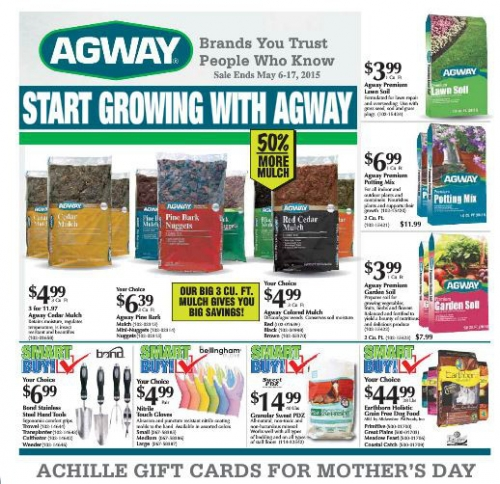 CHECK OUT OUR CURRENT SALES FLYER! | Achille Agway - Peterborough ...