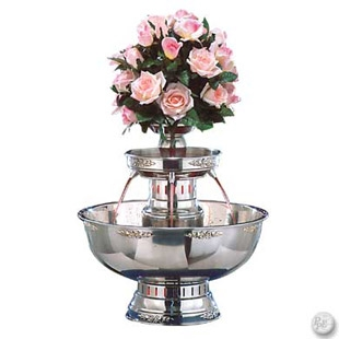 Champagne Fountain, 7 Gal. Stainless Steel