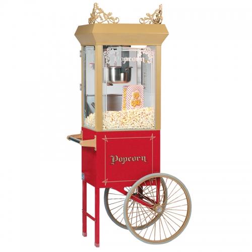 12 0z. Popcorn Machine w/ cart