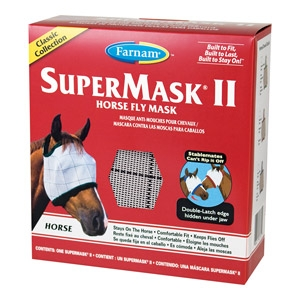 SuperMask® II Classic Horse Fly Mask