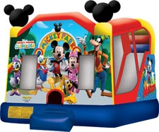 Mickey Mouse Park Combo Bounce House