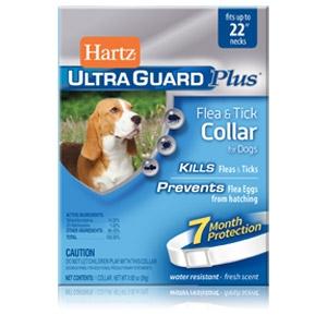 """Hartz® UltraGuard Plus™ Flea & Tick Collars for Dogs 22"""""""