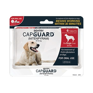 Sentry® CapGuard™ Flea Medication for Dogs