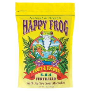 Happy Frog® Fruit & Flower Fertilizer 5-8-4