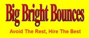 We are partnered with Big Bright Bounces!