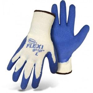 Boss® Flexi Grip™ Blue Latex Palm String Knit Gloves