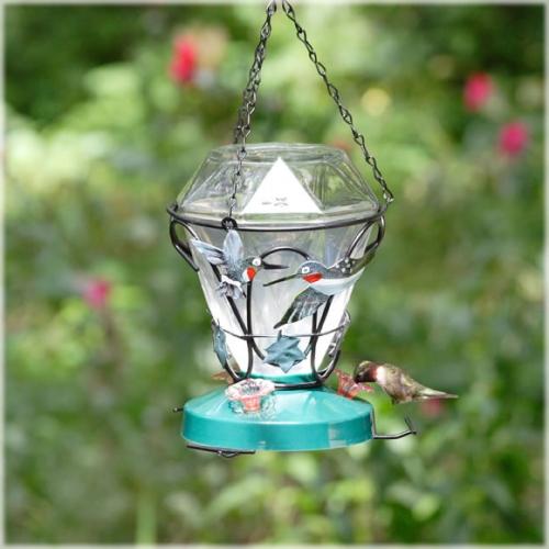 Perky-Pet® Birdscapes Hummingbird Edition Glass Hummingbird Feeder