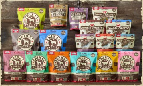 Primal Pet Food and Treats